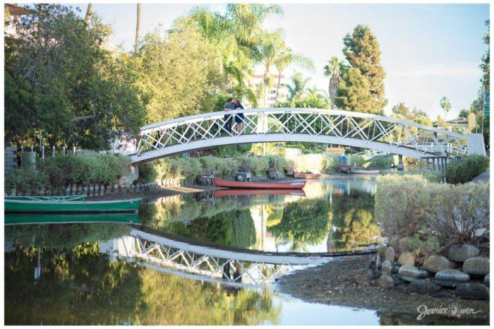 9. Walking bridge over the Venice canals