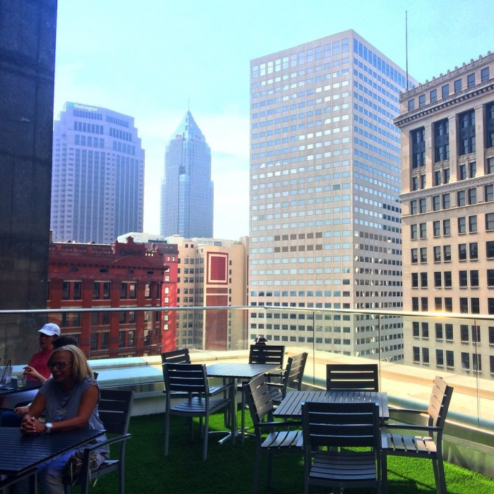 3. Azure Rooftop Lounge (Cleveland)