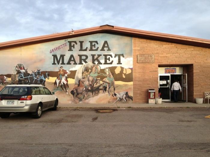 8.) Lafayette Collectibles and Flea Market (Lafayette)
