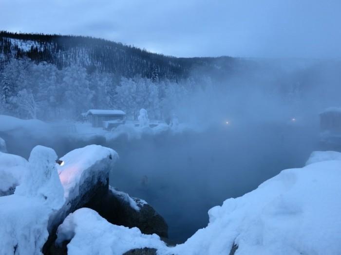 16. Chena Hot Springs in Fairbanks, Alaska
