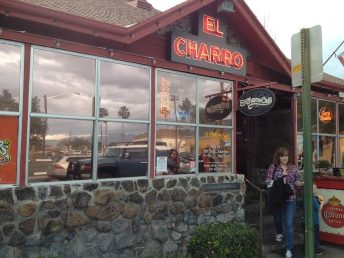 5. El Charro Cafe, Tucson