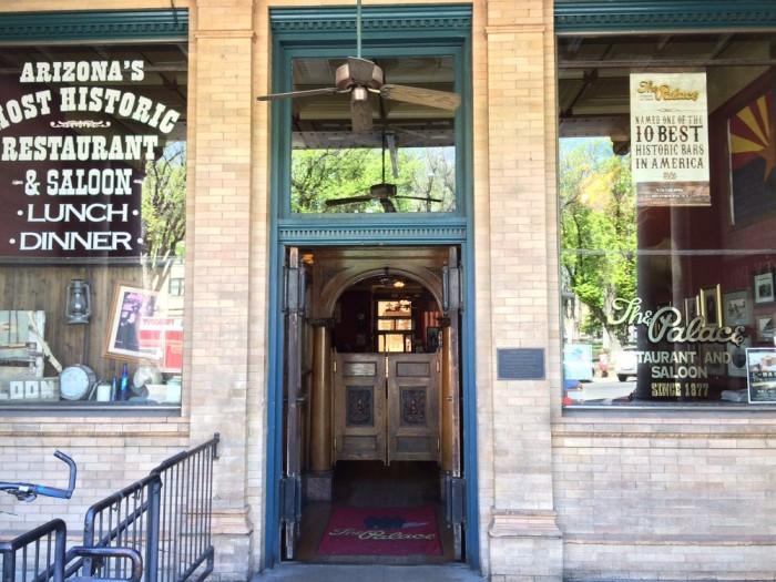 6. Palace Restaurant and Saloon, Prescott