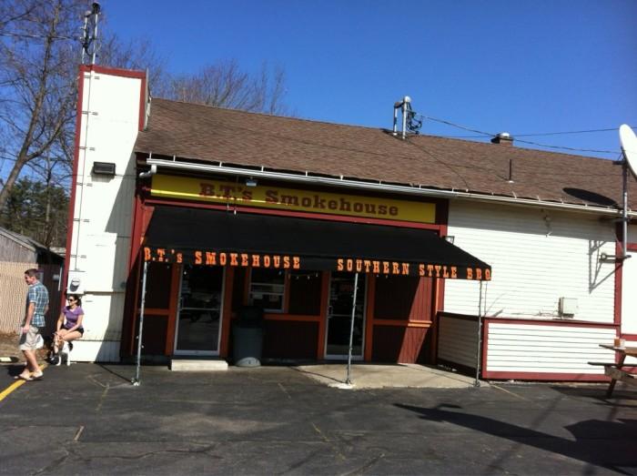 6. B.T.'s Smokehouse, Sturbridge