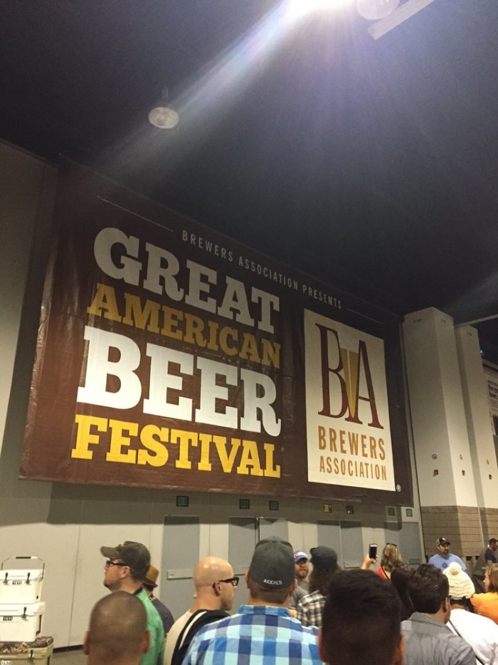 18.) Pull some strings to get yourself into the Great American Beer Festival.