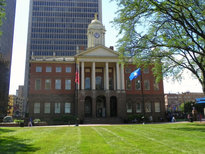 1. Connecticut's Old State House, Hartford
