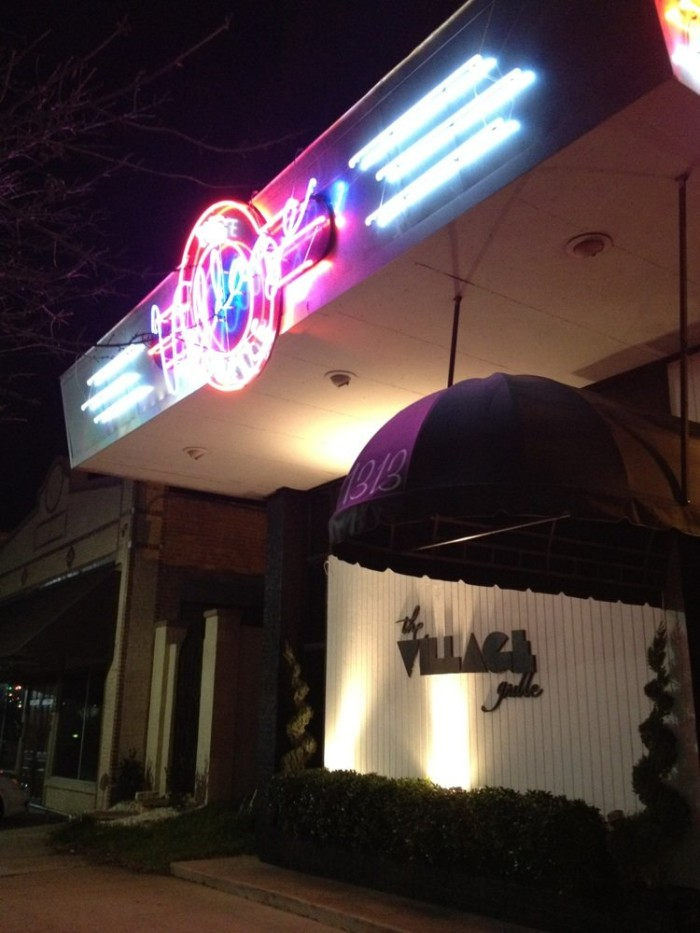 10. The Village Grille, 1313 Louisiana Ave., Shreveport