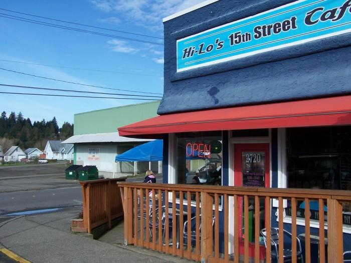 3. Green Eggs & Ham, Hi-Lo's 15th Street Cafe, Bremerton