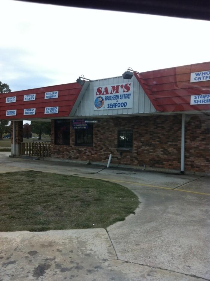 11. Sam's Southern Eatery, 1324 N Market, Shreveport
