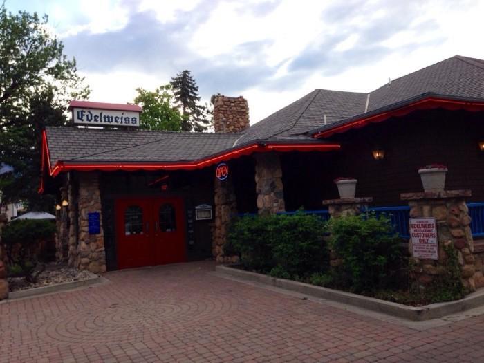 6. Edelweiss German Restaurant (Colorado Springs)
