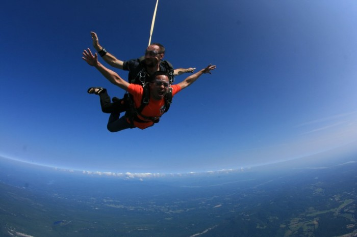 3. The views from above during an adventure at Skydive the Ranch.