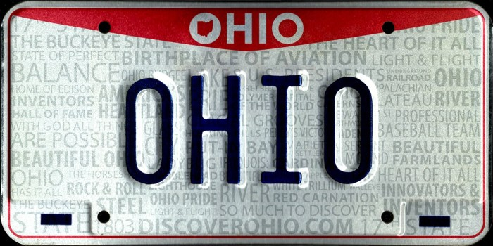 6. Out of State Tags