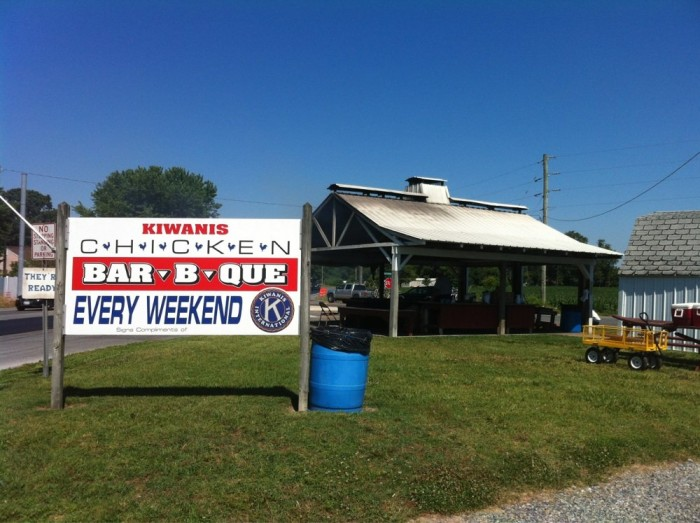 8. Kiwanis Bar-B-Que Chicken, Bridgeville