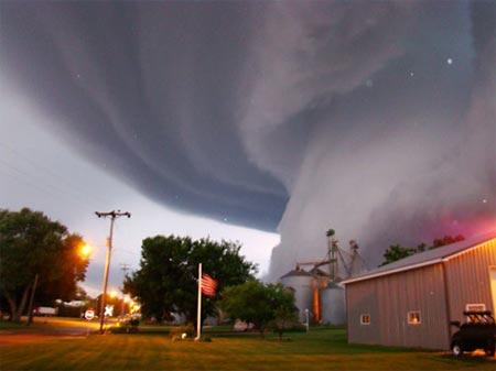 10. We run outside instead of inside when we hear tornado sirens.