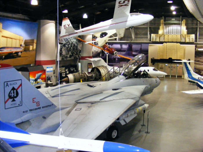 7. Go to the Tulsa Air and Space Museum.