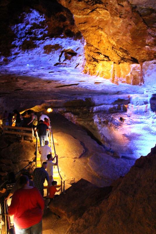10. Explore Alabaster Caverns near Freedom, Oklahoma.