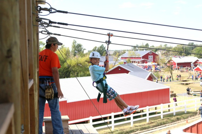 8. Visit Orr Family Farm in Oklahoma City for loads of fun..