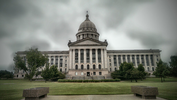 9. Oklahoma State Capitol