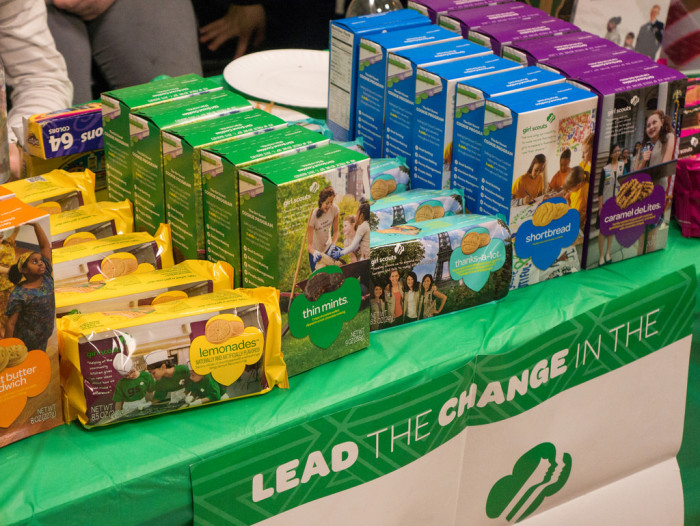 12. We were also the first to sell Girl Scout cookies.