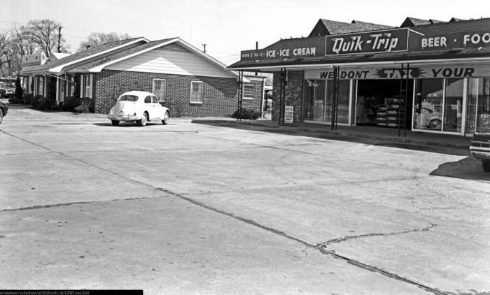 9. And the first Quiktrip.