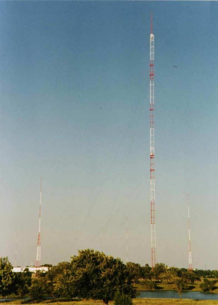 7. Oklahoma was the site of the first radio station west of the Mississippi (and the third in the nation).