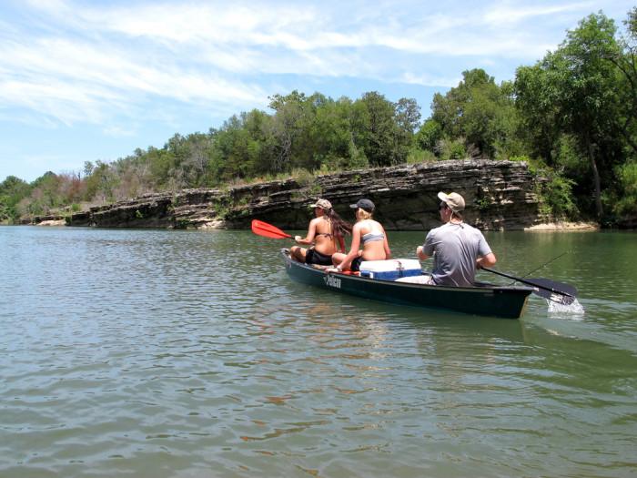 12. Kayak or tube down the Illinois River.