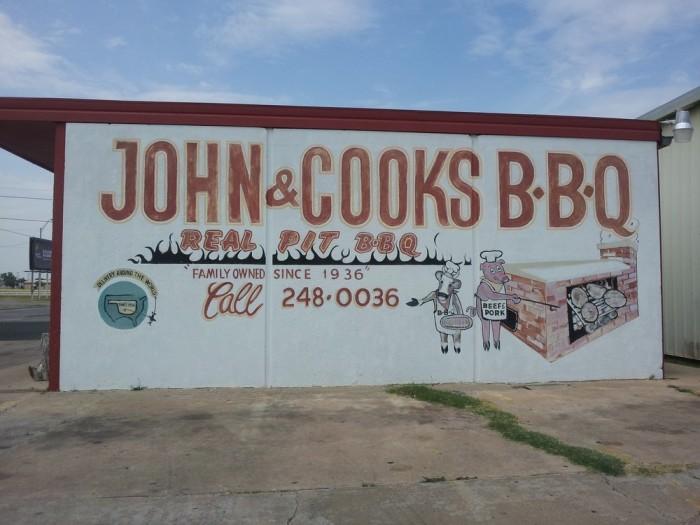 2. John & Cooks BBQ, Lawton