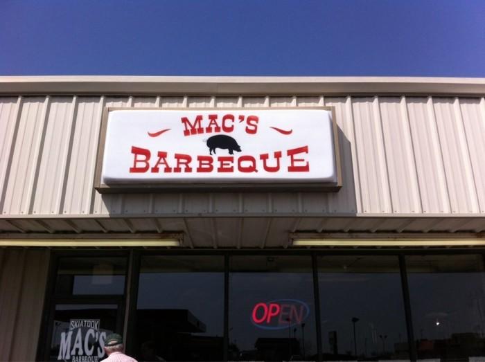 10. Mac's Barbeque, Skiatook
