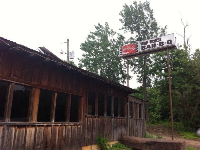 8. Wildhorse Mountain BBQ, Sallisaw