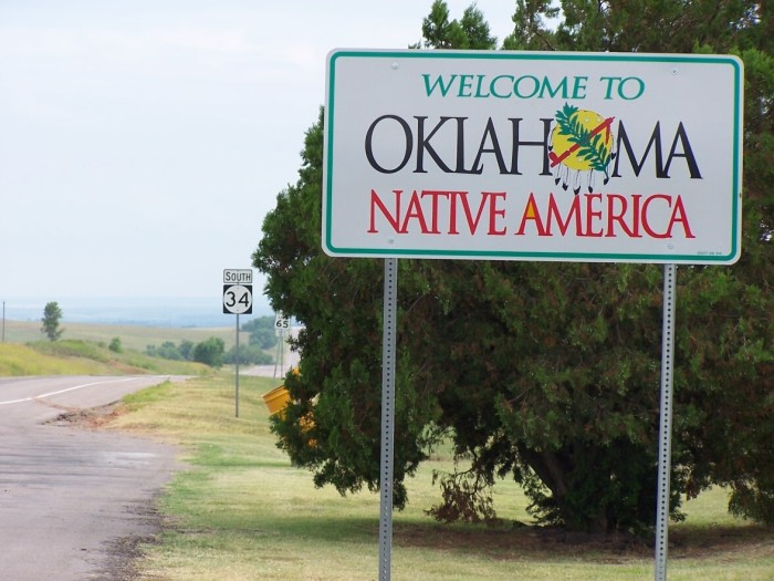 8. More Native American languages are spoken in Oklahoma than in any other state.