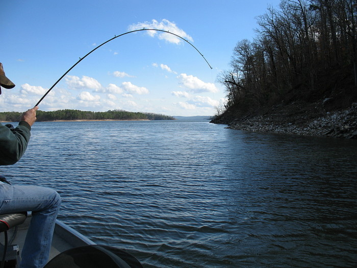 11 best fishing spots in oklahoma for Broken bow fishing