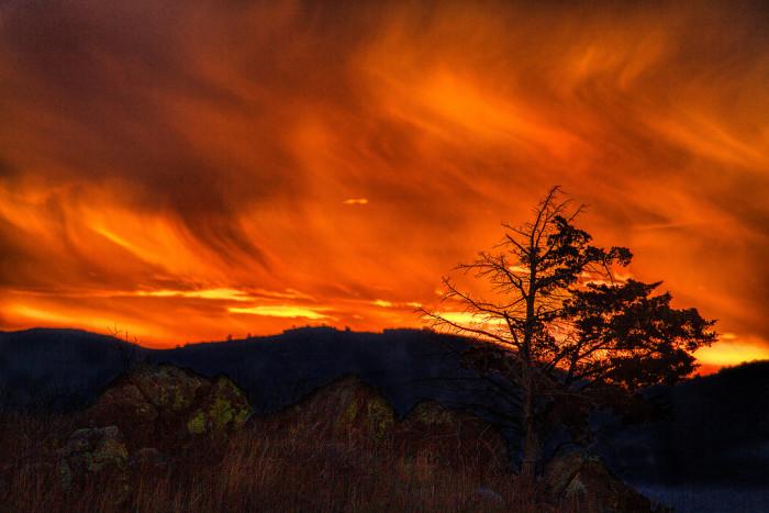 9. We rank #1 for the most beautiful sunrises.