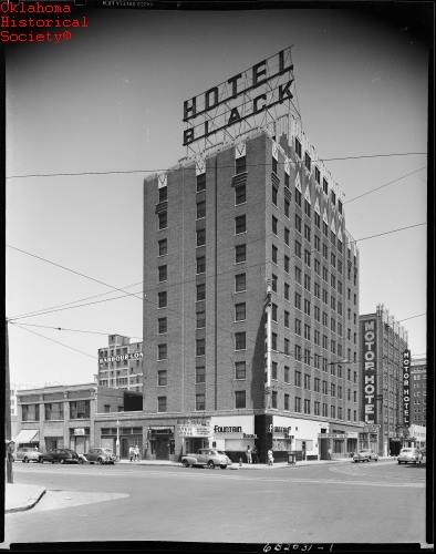 3. The Hotel Black and the Motor Hotel, Oklahoma City