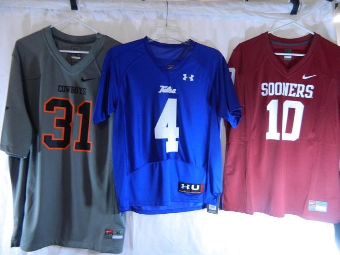 3. Throw on your favorite Oklahoma shirt.