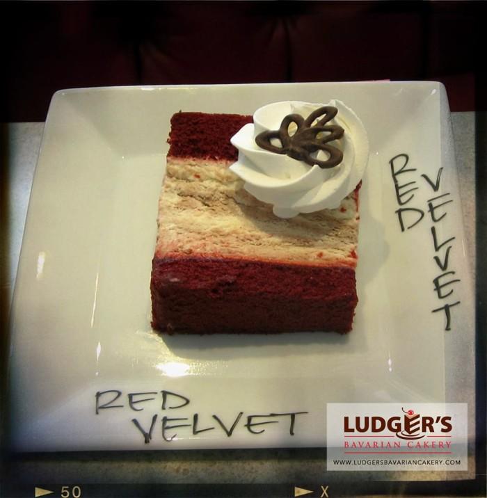 6. Red Velvet Bavarian Creme Cheesecake at Ludger's Bavarian Cakery, Tulsa
