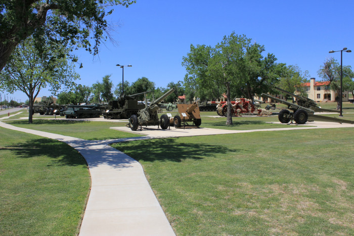 12. Visit U.S. Army Artillery Museum at Fort Sill.