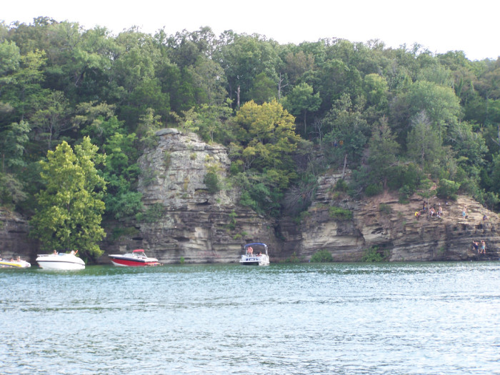 11. Rent a boat or water toy on one of Oklahoma's beautiful lakes.