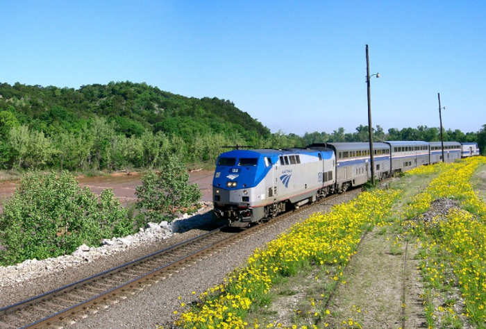 14. Take the Heartland Flyer Amtrak train to Ft. Worth.