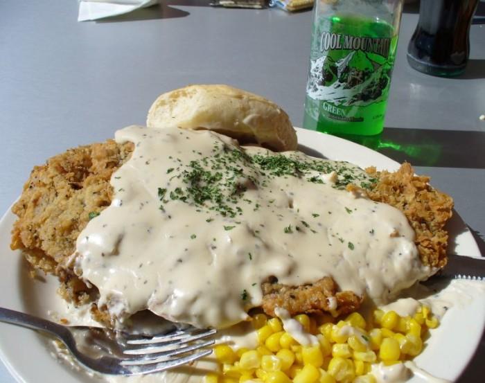 1. Chicken Fried Steak