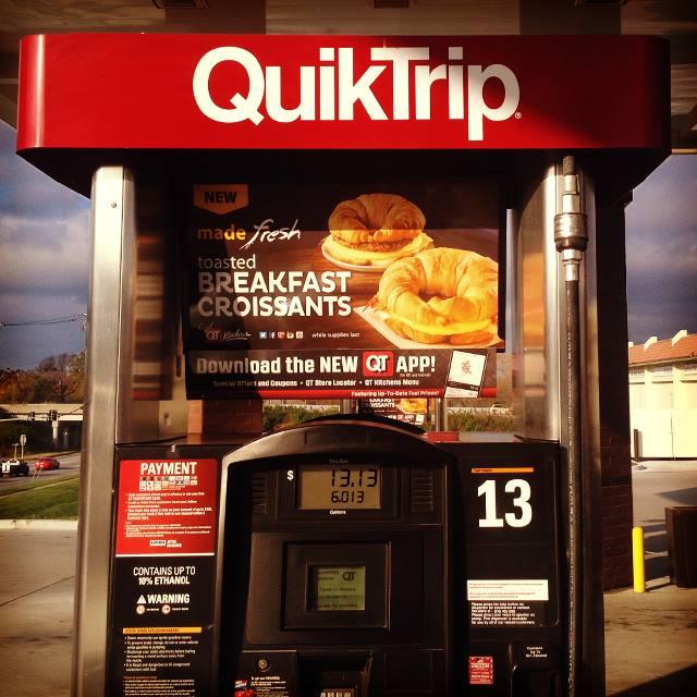 2. They spell Quiktrip...Quicktrip.