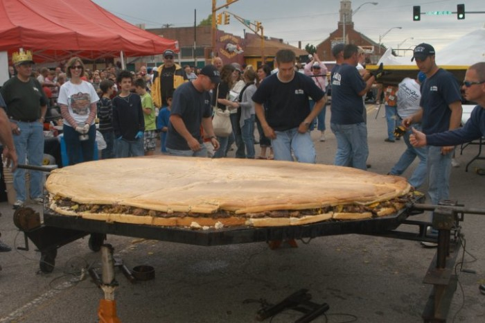 16. Attend the El Reno Fried Onion Buger Festival.