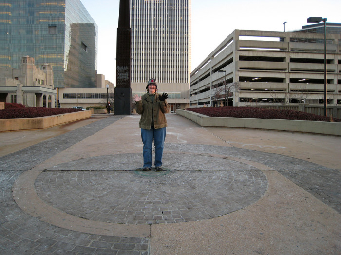 18. Stand at the Center of the Universe in Tulsa.