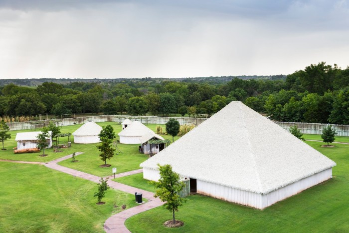 14. Tour the Chickasaw Cultural Center in Sulphur.