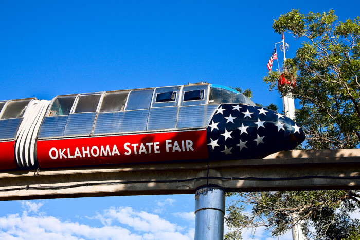 12. Attend the Oklahoma State Fair.
