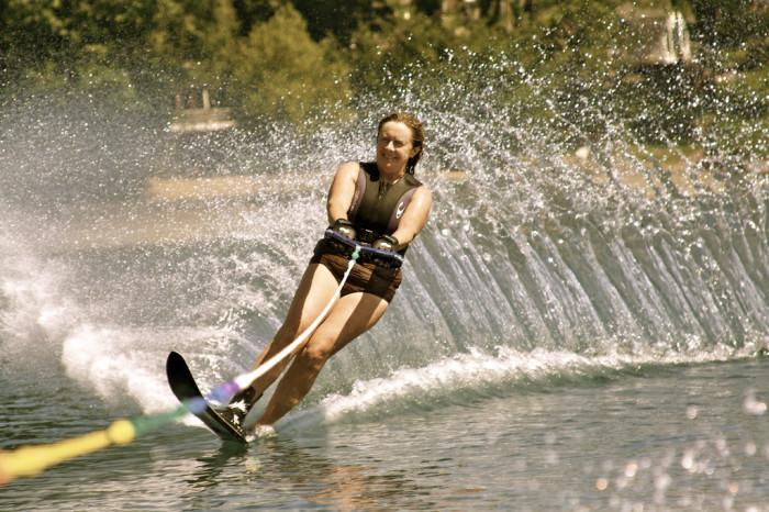 17. Go water skiing on Lake Eufaula.