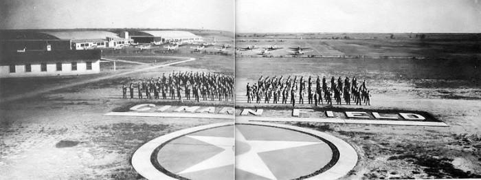 1. Graduates of the Contract Flight School at Cimarron Field, Oklahoma, 1944.