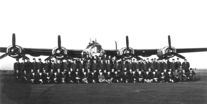 2. The 655th Bombardment Squadron during training at Will Rogers Field, Oklahoma, 1944.