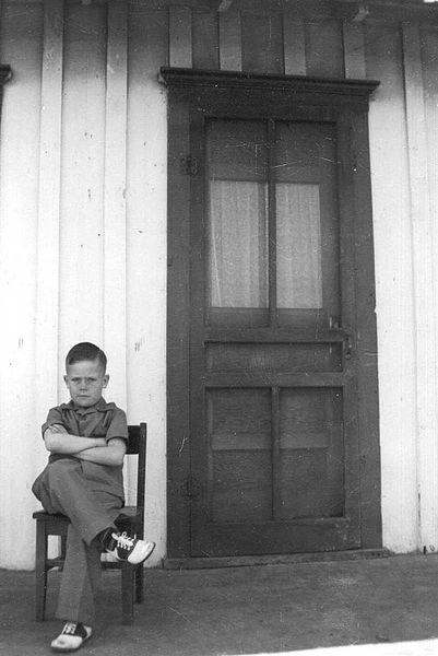 """10. This photo is captioned, """"The Day My Father Left."""" Taken in 1939."""