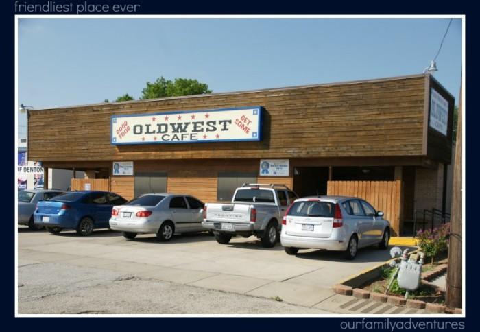 12. Oldwest Cafe (Denton)