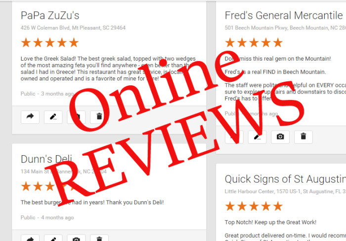 5. Mention a server's name in a positive online review and it's as good as gold with the boss.