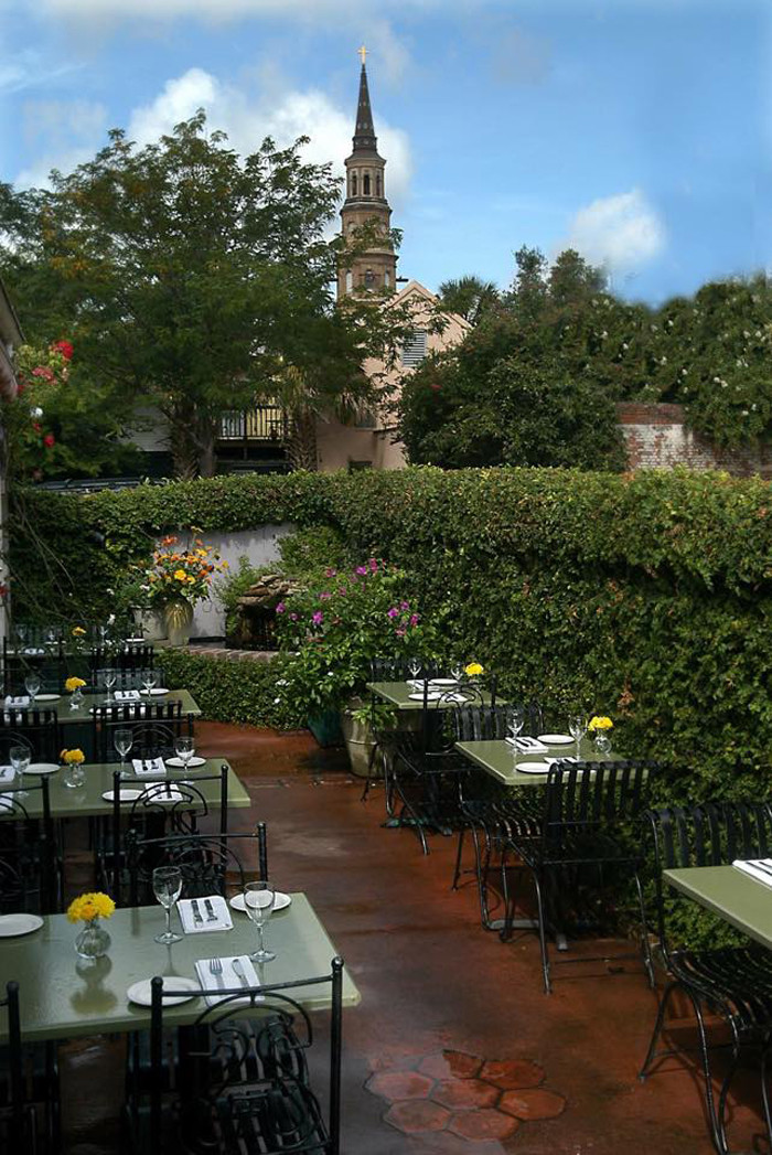 6. Great patio dining spots like this one at Blossom Restaurant in Charleston...